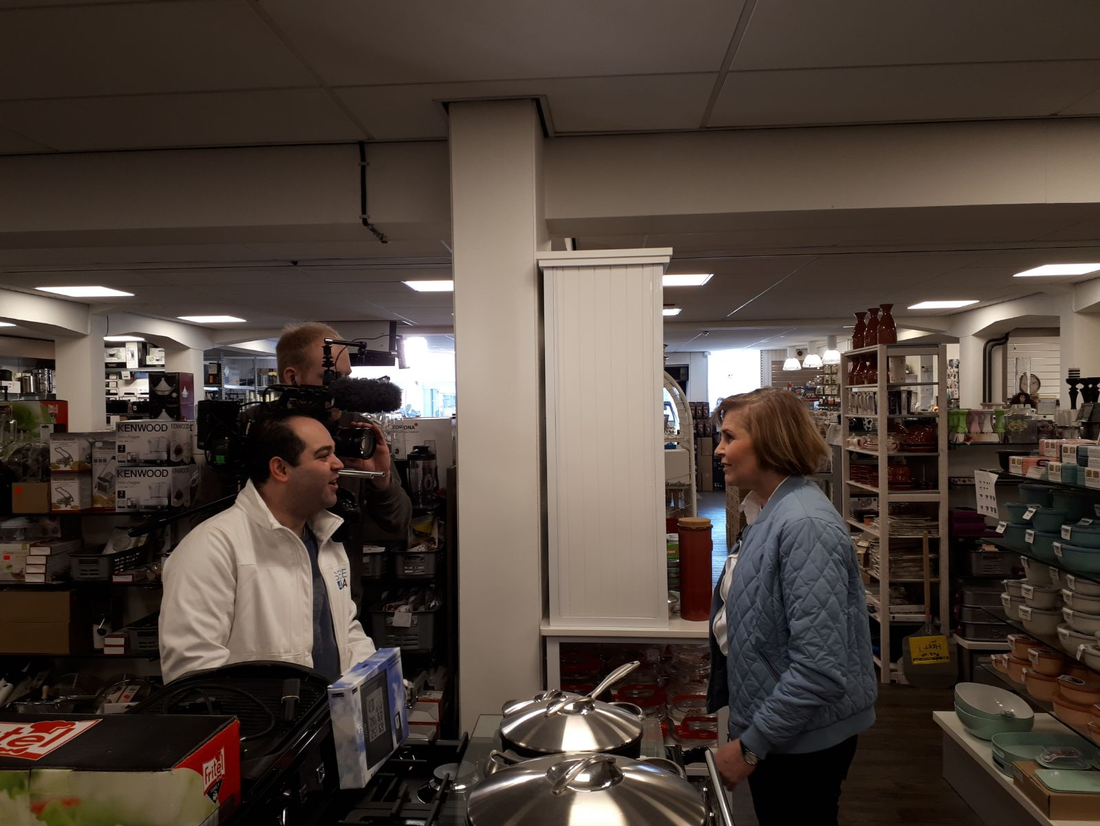 Ingrid  Oostendorp verteld over de kookwinkel van Tiel.